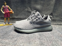 Wholesale Adidas Original Kanye West Yeezy Boost Men s and Women s Basketball Shoes Fashion Running shoes Sneakers Size EUR With Box