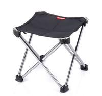 aluminium outdoor chairs - chair yellow New Outdoor Foldable Beach Chair Portable Aluminium Alloy Chair Fishing Chair NH15D012 M chair yellow