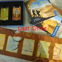 adventure city - Lost Cities World Adventure Playing Card Game For Player Board Game Send English Instructions
