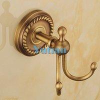 Wholesale solid brass Bathroom Accessories Set Robe hook Paper Holder Towel Bar soap basket bathroom sets YT B