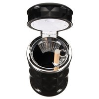 automotive covers - Automotive Interior Supplies Smoke Car Ashtray High Quality Car Universal Diamond LED Matches Cigar Cigarette Ashtray For ABS Covered