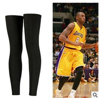 Wholesale Basketball Sport Protect Leg Sleeve Sports Compression Calf Stretch Brace Thigh Skin Protector Sport Safe S M L COLOR