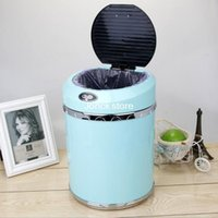 Wholesale 11 liters electronic intelligence far infrared sensor waterproof Free foot home trash barrel automatic toilet living room