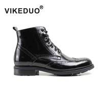 berluti men shoes - VIKEDUO Men shoes fashion Low for Boots xx61 hand made shoes Genuine leather shoes exclusive design shoes Second only To Berluti