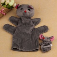 baby imagination - Best seller children baby Mouse Soft Animal Finger Puppet Kid Infant Toy Plush Toys bring more fun and imagination jul zk