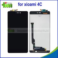 Wholesale 5 inch Original No dead pixel replacement parts for xiaomi mi4c LCD display digitier touch screen Tim05