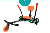 Wholesale Adults Kids Kart Frame Drift Car for inch Detachable Frame Kart Suit Two Wheels Smart Electric Self Balance Scooter Accessories