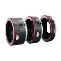 Wholesale Aputure Auto Focus Macro Extension Tube Ring for Canon EOS Lens Focus Macro Extension Tube Set AC MC