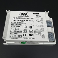 Wholesale 6pieces W AC Electronic Ballast For T5 Ring Lamp Standard Rectifiers YZ140EAA T5 C W CB SAA Certificate