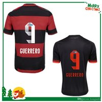 Wholesale Camisa flamengo jersey Chandal Flamengo Jersey Brasil Flemish Away ZICO ELANO HERNANE Soccer Jerseys