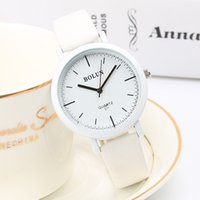 Wholesale New m Waterproof Watch Women Casual Faux Leather Analog Quartz Watch FashionFashion Dress Wrist Wristwatches Hours Clock