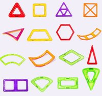 Wholesale BULK Magnetic Building Blocks Creator Carnival Set Rainbow colors Magnet Block Toys for kids Christmas Gift