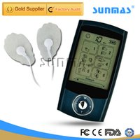 Wholesale SUNMAS SM9126 Massager Health Care Pulseacupressure Tens Unit Dual channel FDA Low frequency Electro Pulse Muscle Stimulator