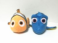 Wholesale 2016 New Finding Nemo Anime Movies Children Doll Gift Clownfish Cartoon Plush Toy Dory Nemo PP Stuffed Cotton Toys cm