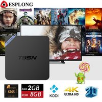 Wholesale 5pcs GB GB Original T95N Mini M8s pro Android TV Box Amlogic S905 Quad core Kodi K Smart Internet TV Box