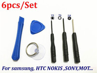 Wholesale 1000set in1 Hand Tools Screwdriver Set Mobile Phone Repair Opening Tools Kit For Blackberry HTC Samsung SONY Nokia LG