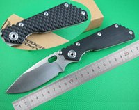 Wholesale 2 Styles WEDGE STRIDER Classical SMF OEM EDC CR13 Blade Cambered Crater G10 Handle Jackknife Folding Pocket knife Camping Tools Gift Knives