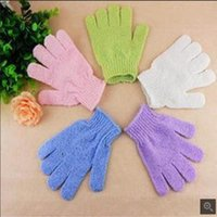 Wholesale South Korea s five fingers bath gloves Household products bath towel Rub zao nylon bath towel strong chamfer