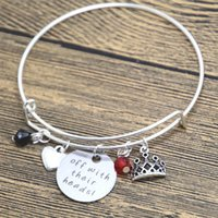 alice gifts - 12pcs Alice in Wonderland Inspired bracelet Villain Red Queen of Hearts Off With Their Heads Silver tone crystal bangle