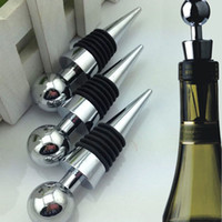 bar wine storage - Hot Sale Metal Bottle Stopper Wine Storage Twist Cap Plug Reusable Vacuum Sealed Bar Tool Barware