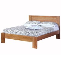 Wholesale HUAYI Full Solid Wood Bed M M M Full Oak Double Bed American Minimalist Adult Bed Bedframe