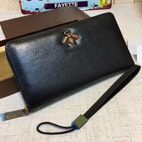 Wholesale Genuine Leather Men G Brand Fashion Wallets Coin Pocket Men s Leather Wallet with Coin Purse with box