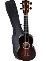 Wholesale 21 quot Basswood Soprano Ukulele Instrument Polishing finished Carry Bag