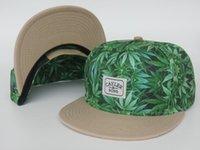 2016 nuevos sombreros de béisbol de la hoja de la manera Los sombreros del Snapback para los hombres y las mujeres snapbacks se divierten los sombreros de los gorras de los gorras