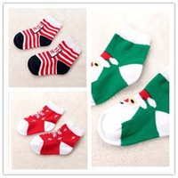 ankle socks for toddlers - Christmas Ankle Socks Children Socks Boys Girls Cotton Sock Baby Socks Socks For Kids Child Clothes Toddler Clothing Lovekiss C29341