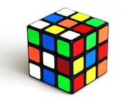 Wholesale NEW x3x3 Magic Cube ABS Ultra smooth Professional Mini Puzzle Cube PVC Paster Children Christmas Gifts for sale B092704