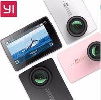 Wholesale International Edition Xiaomi YI K Action Camera Ambarella A9SE Xiaoyi Sports Camera II quot Degree MP CMOS EIS LDC