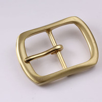 Wholesale 40mm Copper Free Single Prong Solid Brass Horseshoe Belt Buckle DIY Leathercraft Metal Accessories