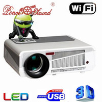 Wholesale Newest Full HD P Lumens Android4 D Projector Perfect For Home Theater Projector Wifi LCD TV LED WIFI