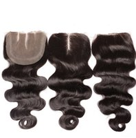 Wholesale Chinese Unprocessed Virgin Full Lace Human Hair Wig Closure Body Wave Long Pure Black High Quality female Fashion