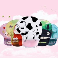 Wholesale Computers Accessories Animal Print Silicone Wristband Large Mouse Pads and Super padded hands and lovely Clean Mat Wrist Rests