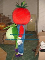 big red tomatoes - Palatable Red Tomato Love Apple Mascot Costume Cartoon Character Mascotte Adult Vegetable White Hands Big Mouth NO Free Sh