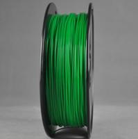 Wholesale PLA GREEN colors Wanhao d Printer filament PLA mm plastic spool kg