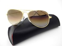 bands for lenses - 2016 Pilot Classic Gradient Sunglasses Glass Lenses Band Glasses Drop Shipping For Mens Womens oclos de sol