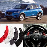 Wholesale Brand New High Quality Alloy Add On Steering Wheel DSG Paddle Shifters Extension For Mazda CX
