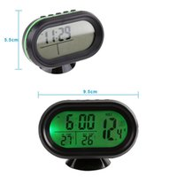 auto diagnostic meter - ools Maintenance Care Diagnostic Tools VST V Car Thermometer Digital Backlight LCD Auto Thermometer Battery Voltmeter Voltage Meter