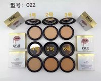Wholesale Kylie Jenner Face Power Makeup Kylie Face Powder Professional Studio Fix Powder Plus Foundation Press Make Up Cosmetic Colors