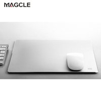 Wholesale 100 Original Xiaomi Metal mouse pad px mm px mm Luxury Simple Slim Aluminum computer mouse pads Frosted Matte