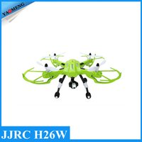 bd remote - DHL Free JJRC H26W WIFI FPV RC Quadcopter Drone With P Camera CH GHz Headless Helicopter Toy Gift for Adult Boy Kids RTF BD