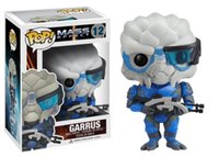 action figure mass effect - Funko pop games mass effect garrus vinyl action figure classic toys for children pop dolls brinquedos kids juguetes hot christmas gift