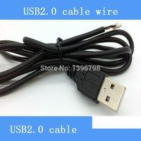 Wholesale 1 M port USB module surveillance cameras cable line full copper wire black USB cable