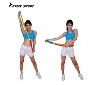 Wholesale Fitness Equipments Hula Hoops new arrival multifunctional massage spring hula hoop thin waist slimming soft hula hoop