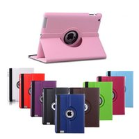 Wholesale 360 Rotating Folio Stand Smart PU Leather Case Cover For Apple Pad inch iPad Samsung galaxy Tab T280