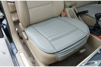 Wholesale 100pcs Bamboo Charcoal Leather Car Monolithic Seat Cover Cushion Suitable For Four Seasons With Free Gift pc jy580