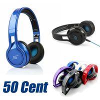 50 Cent SMS Noise Cancel Casque Gaming Musique Casque Casque DJ Apple Iphone Ecouteur Casque Audio STREET Casque