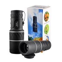 Al aire libre Mini 30x52 Dual para el enfoque óptico de la lente de visión nocturna del día Blindaje Viajes Telescopio monocular Turismo Scope binoculares 2507007